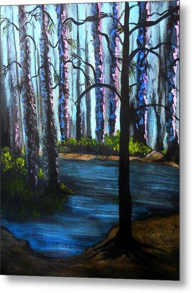 Serene Forest  Metal Print