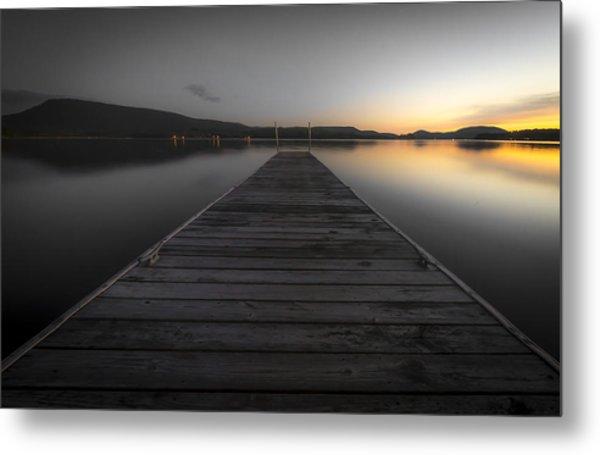 Serene Lake 2 Metal Print