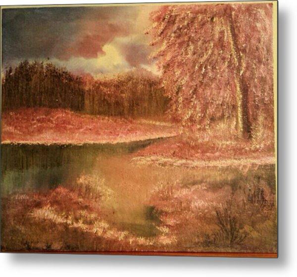 Serene Lake  Metal Print