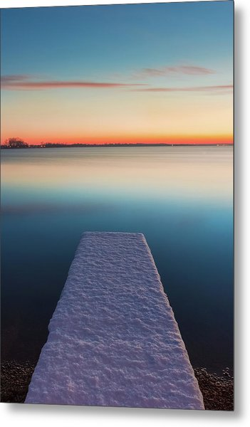 Serene Morning Metal Print