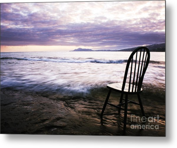 Serenity At Portlock Metal Print