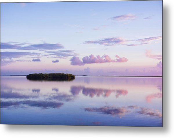 Serenity At Sunrise Metal Print