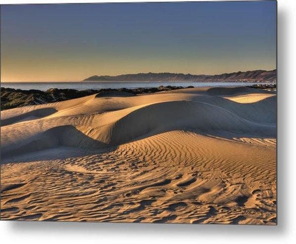 Serenity In The Dunes Metal Print