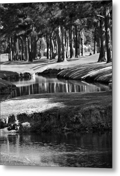 Serenity - It Is Autumn Metal Print