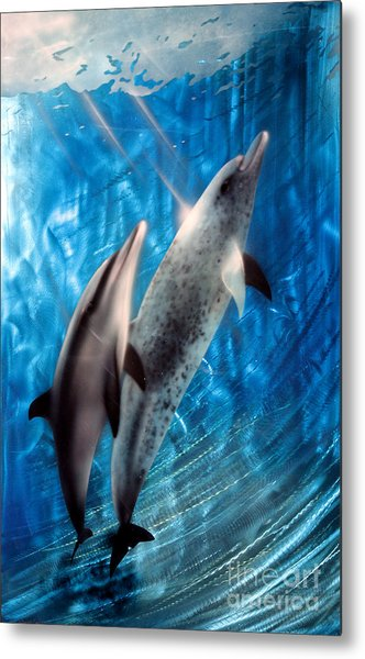 Serenity  Metal Print by Kerry Krueger