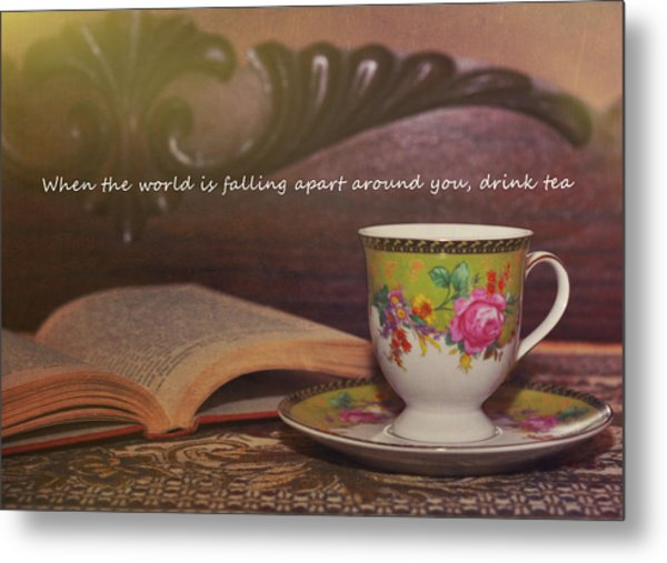 Serenity Quote Metal Print by JAMART Photography
