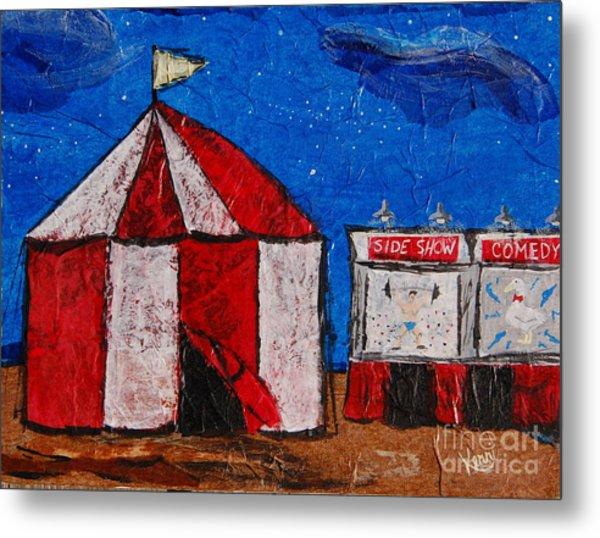 Set My Circus Down Metal Print