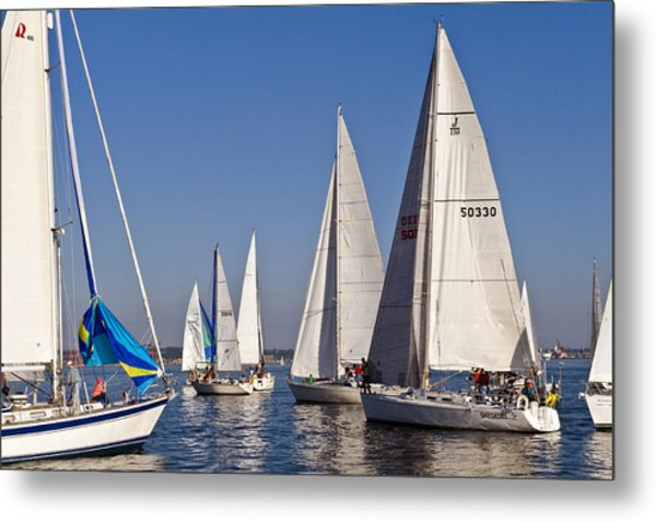 Set Sail Metal Print by Tom Dowd