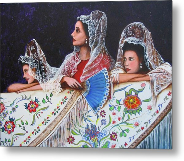 Sevilla's Ladies Metal Print