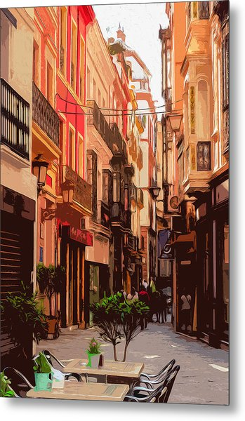 Seville, The Colorful Streets Of Spain - 02 Metal Print