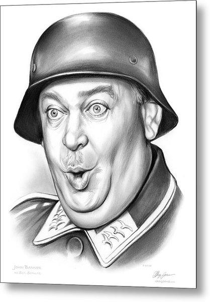 Sgt Schultz Metal Print