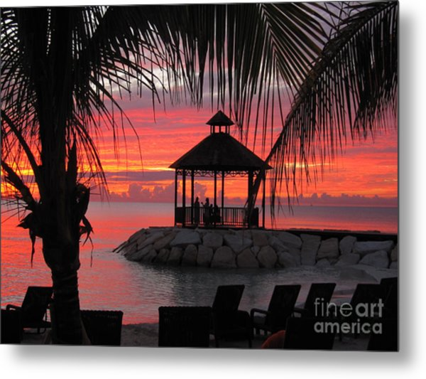 Shades Of Paradise 2 Metal Print by Addie Hocynec