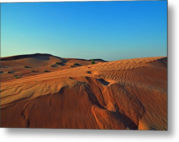 Shades Of Sand Metal Print
