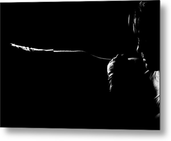 Shadow Boxing Metal Print