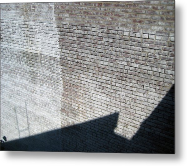 Shadow Brick Metal Print by Sean Owens