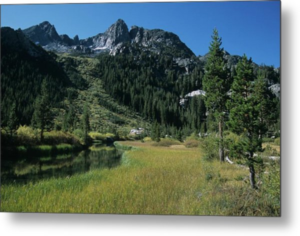 Shadow Creek - Mount Ritter And Reflections Metal Print