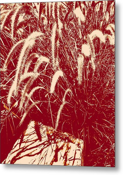 Shadow Painting Metal Print