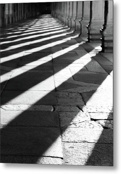 Shadow Play - Venice, Italy Metal Print