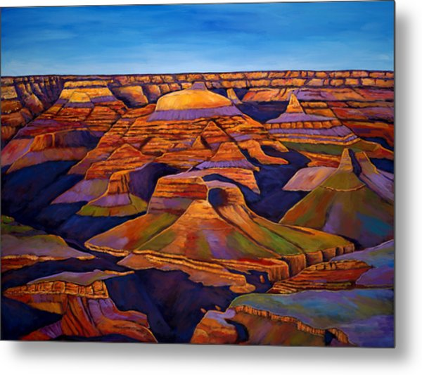 Shadows And Breezes Metal Print by Johnathan Harris