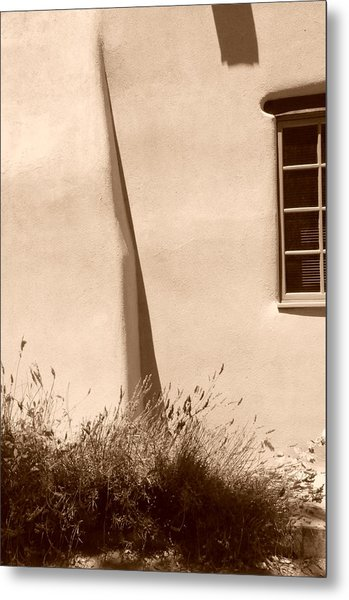 Shadows And Light In Santa Fe Metal Print