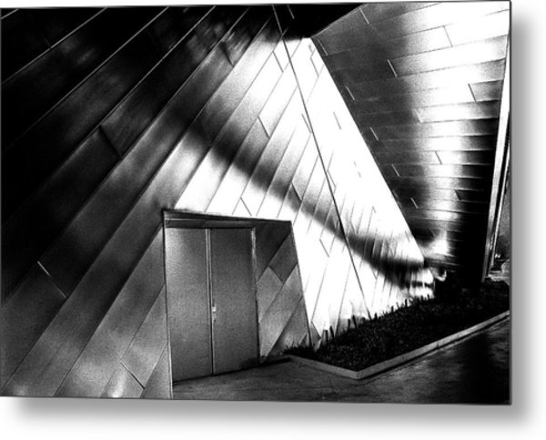 Shadows On The Wall Metal Print