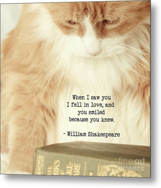 Shakespeare In Love Metal Print