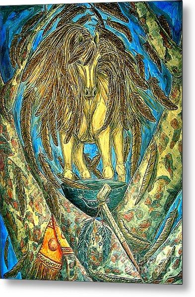 Shaman Spirit Metal Print