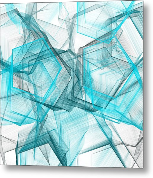 Shapes Galore Metal Print