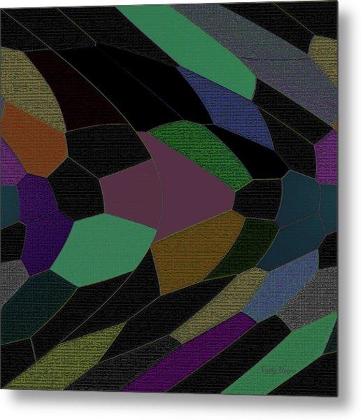 Shards Of Glass Metal Print