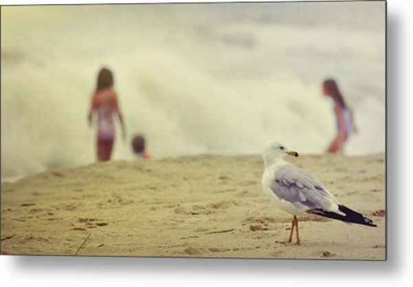 Share The Beach  Metal Print by JAMART Photography