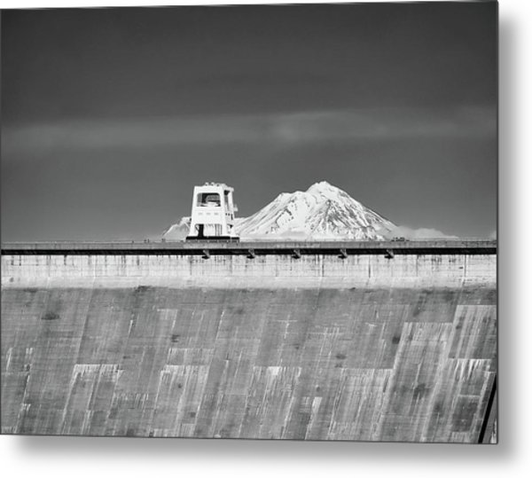 Shasta Dam  Metal Print