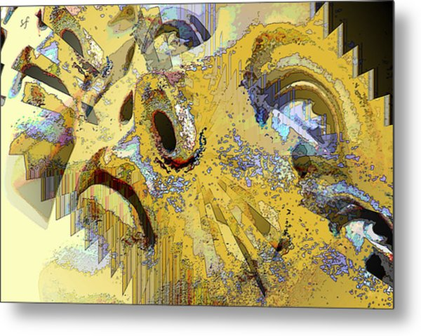 Shattered Illusions Metal Print