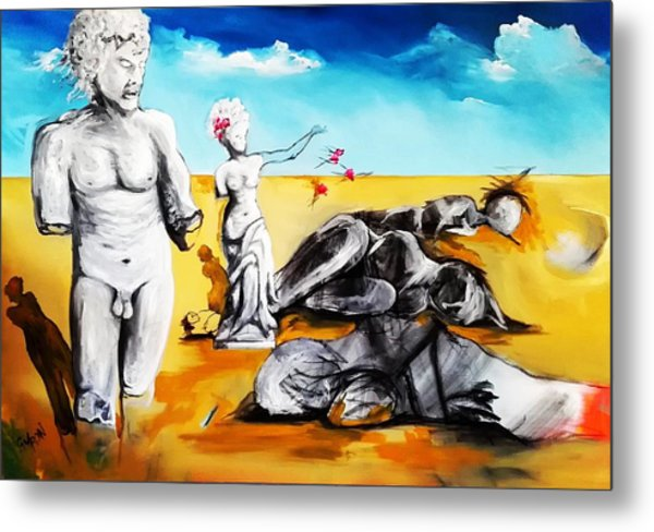 Shattered Limbs To Shattered Souls Metal Print