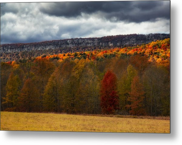 Shawangunk Mountains Hudson Valley Ny Metal Print
