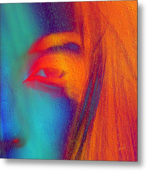 She Awakes Metal Print