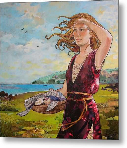 She Baked The Loaves And Dried The Fishes Metal Print