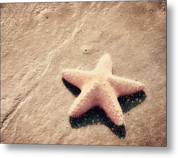 She Dreamed Of Becoming A Star Metal Print
