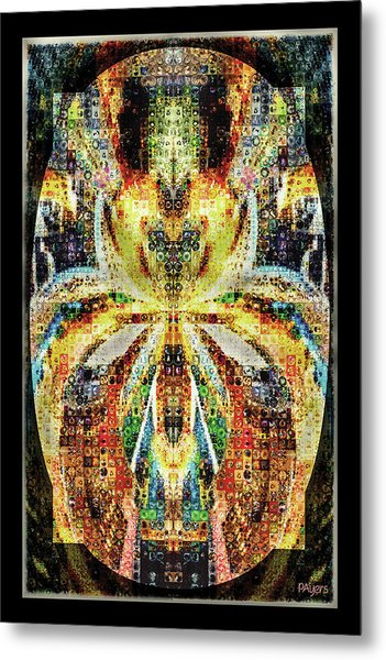 She Is A Mosaic Metal Print