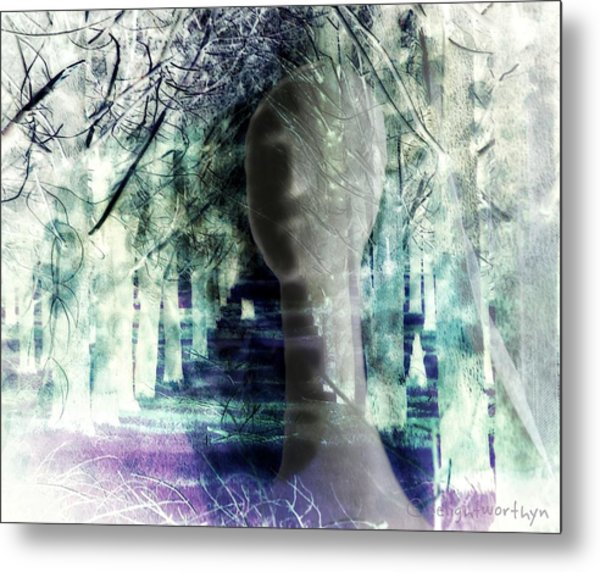 She Thought She's Never Be Alone Again Metal Print