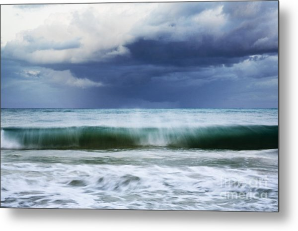 Sheer Wave Metal Print
