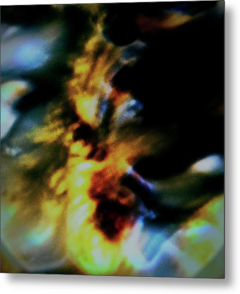 Shell Dancing Metal Print