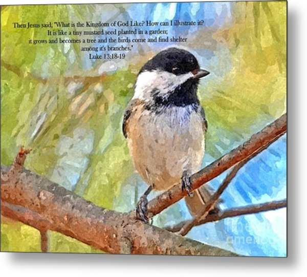Shelter Among It's Branches Metal Print