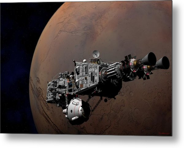 Shenandoah At Mars Metal Print