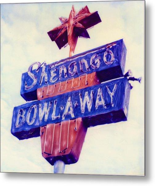 Shenango Bowl-a-way Metal Print by Steven  Godfrey