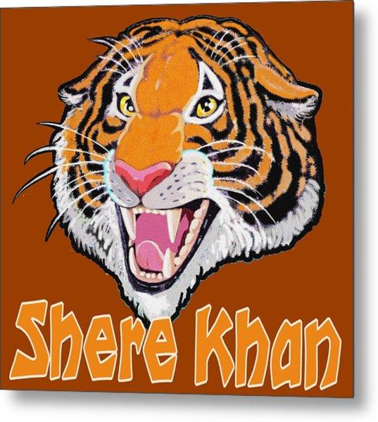 Shere Khan Metal Print