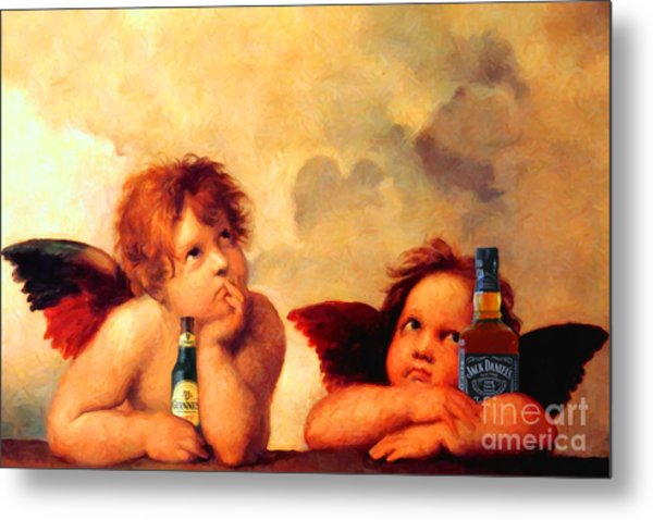 Shes Such A Prima Donna 20150622 Metal Print by Wingsdomain Art and Photography