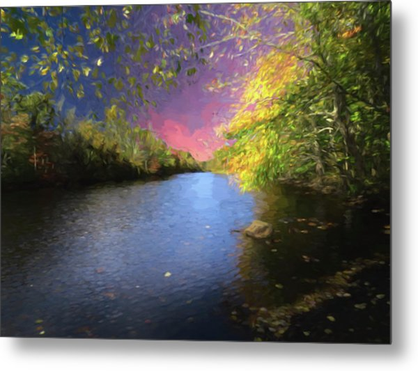 Shetucket River Ct. Metal Print