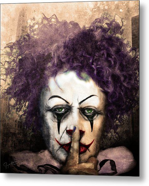 Shhhhh Metal Print by Jeremy Martinson