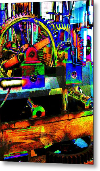 Shifting Gears Metal Print