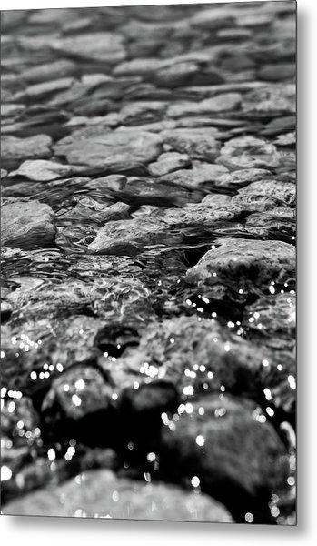 Shimmering Waters In Spring Metal Print